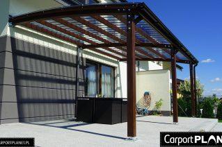 Carport P2 standard terrace roofing