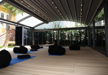 Verbau eines Multifunktionssaals