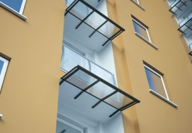 Balkon-Überdachung